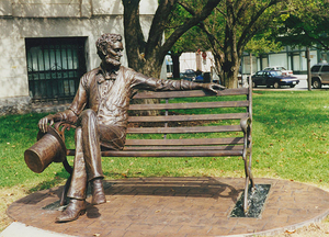 Lincoln Bench (Bloomington, IL)